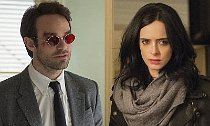 Daredevil Meets Jessica Jones in New 'Defenders' Set Photos