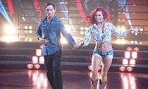 Sharna Burgess Defends Bonner Bolton After He Grazed Her Crotch on 'DWTS'
