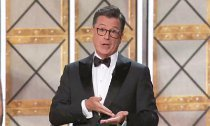 Watch Stephen Colbert's Musical Number and His Jabs at Trump at Emmys