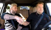 Adam Levine and James Corden's 'Carpool Karaoke' Interrupted by Cop
