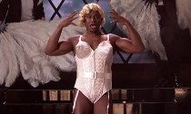 Taye Diggs Drag Dressing as Madonna in 'Lip Sync Battle' Preview