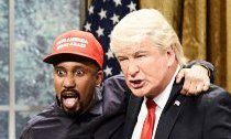 Donald Trump Bonding With His 'Black Me' Kanye West on 'SNL'