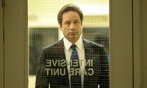David Duchovny Sports Furry Costume in 'The X-Files' Set Photo