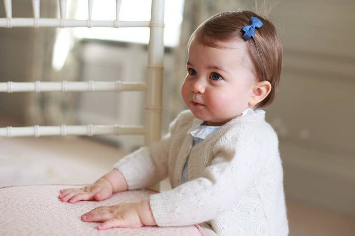 Kate Middleton Shares Adorable Photos of Princess Charlotte Ahead of the Baby's 1st Birthday