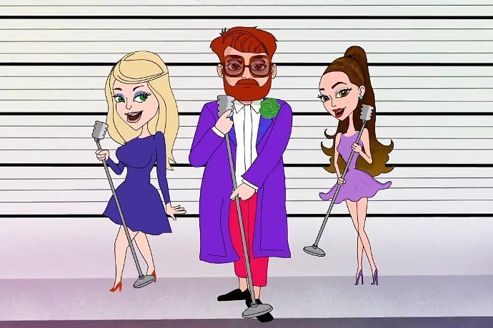 Ariana Grande and Meghan Trainor Get Animated for Who Is Fancy's 'Boys Like You' Video