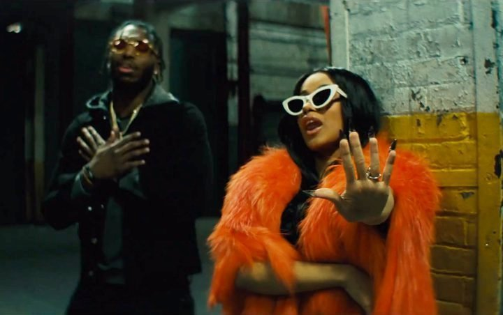 Cardi B Appears to Shade Nicki Minaj in Pardison Fontaine's 'Backin' It Up' Music Video