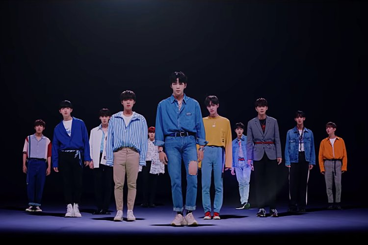 Wanna One Brings 'Light' in New Music Video