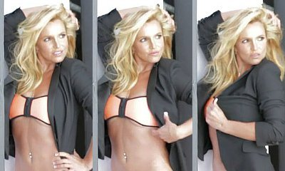 Britney Spears Proves Her Women's Health Cover Is Not Photoshopped in Behind-the-Scenes Video