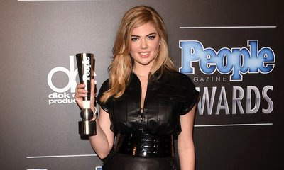 Kate Upton Wins Sexiest Woman Award at PEOPLE Magazine Awards