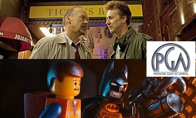 'Birdman' and 'Lego Movie' Win 2015 PGA Awards in Movie