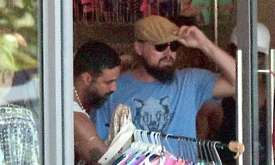 Leonardo DiCaprio Goes Bikini Shopping With Mystery Woman During Caribbean Trip