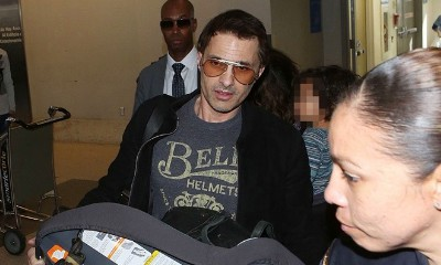 Olivier Martinez Becomes Battery Suspect After Pushing LAX Employee With Car Seat