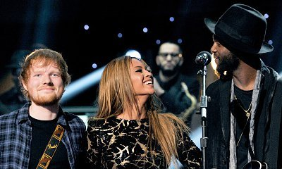 Video: Beyonce Plays Surprise Duet With Ed Sheeran at Grammys' Tribute to Stevie Wonder