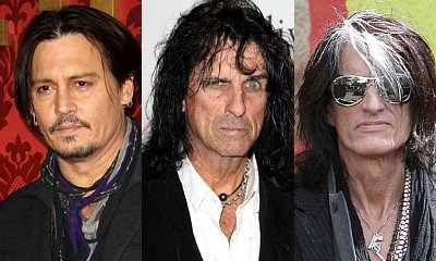 Johnny Depp Forms Band With Alice Cooper and Joe Perry, Already Scores First Gig