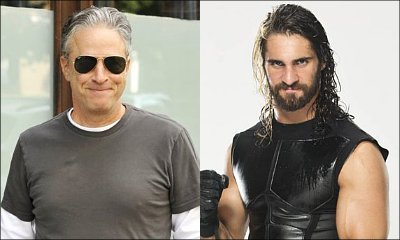Jon Stewart and Seth Rollins' Verbal War Heats Up After WWE Star's 'Daily Show' Diss