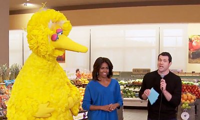 Video: Michelle Obama Appears on 'Billy on the Street' to Promote 'Eat Brighter'