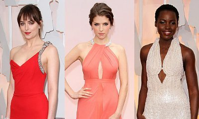 Oscars 2015: Dakota Johnson, Anna Kendrick, Lupita Nyong'o Glam Up on Red Carpet