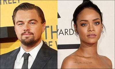 Leonardo DiCaprio and Rihanna Pictured at Her Birthday Party