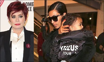 Sharon Osbourne Scolds Kim Kardashian for Dressing North West in Fur