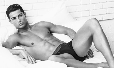 Cristiano Ronaldo Shows Off Hot Shirtless Body in New CR7 Ads