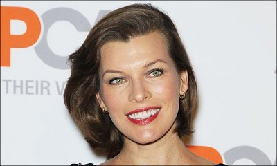 Milla Jovovich Past Due Date, Yet Packed and Ready for Delivery