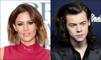 Caroline Flack Claims Past Romance With Harry Styles Was 'Quite Strange'