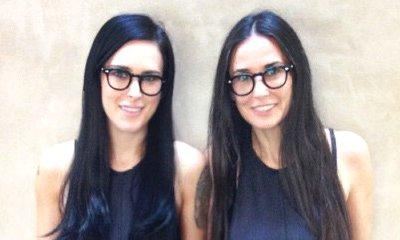 Demi Moore and Daughter Rumer Willis Look Identical in New Photograph