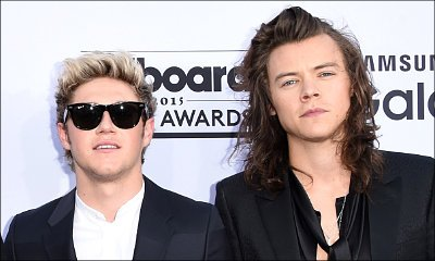 Harry Styles Grabs Niall Horan's Crotch After One Direction's Billboard Award Win