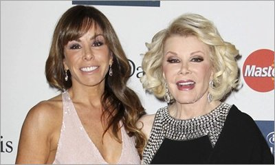Melissa Rivers Believes Joan Rivers' Death Is 100 Percent Preventable