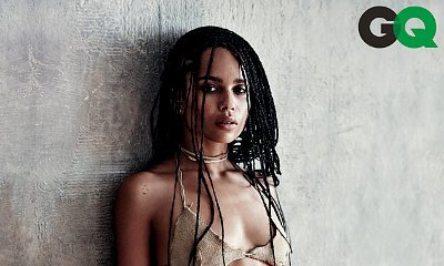 Zoe Kravitz Goes Sexy in Stone-Age-Inspired Bikini for GQ Shoot