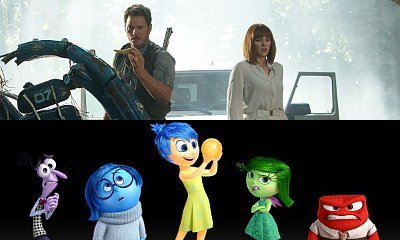 Box Office: 'Jurassic World' Remains at No.1 With $102M, 'Inside Out' Sets Records With $91M
