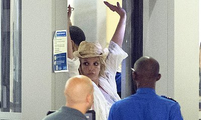 Britney Spears Gets Two Full Body Scans After Failing to Pass LAX Metal Detector