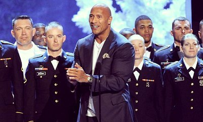 Dwayne 'The Rock' Johnson Receives Hero Award, Pays Tribute to Troops
