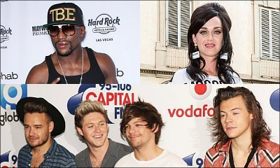 Floyd Mayweather, Katy Perry, One Direction Top Forbes' 100 Highest-Paid Celebrities