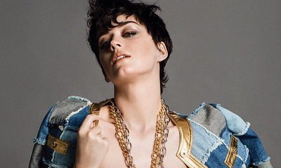 Katy Perry Is Named the New Face of Moschino, Wears Gold Bra in Her First Ad