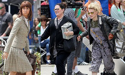 First Look at Kristen Wiig, Melissa McCarthy, Kate McKinnon on Female Ghostbusters Set