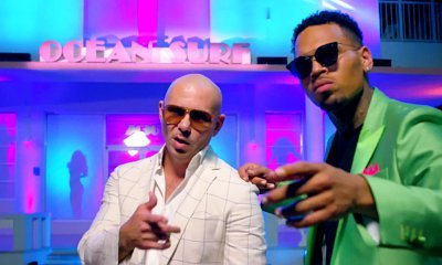 Pitbull and Chris Brown Go Full 'Miami Vice' in 'Fun' Music Video