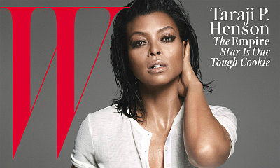 Taraji P. Henson Graces the Cover of W Magazine, Flashes Nipple in Inside Pic