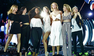 Taylor Swift Brings Kendall Jenner, Serena Williams, Cara Delevingne to London Concert