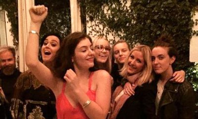 Taylor Swift's BFFs Ellie Goulding and Lorde Pictured Partying With Katy Perry