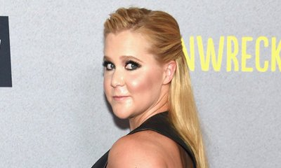 Amy Schumer Shows Off Side Boobs at 'Trainwreck' NYC Premiere