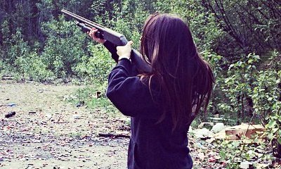 Bristol Palin Fires a Gun and Quotes Bible Verse in New Pic Amid Pregnancy Controversy