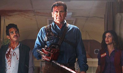 First Look at Bruce Campbell on 'Ash vs Evil Dead' Is Groovy Bloody