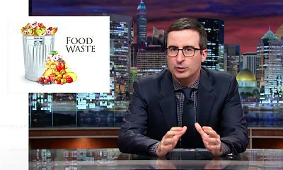 Video: John Oliver Blasts American for Food Waste on 'Last Week Tonight'