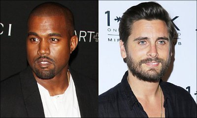 Kanye West Reportedly Called Scott Disick Urging Him to 'Man Up and Go to Rehab'