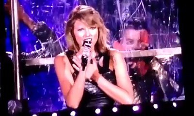 Taylor Swift Throws Shade at Katy Perry With a Shark Cameo During 'Bad Blood' at Concert