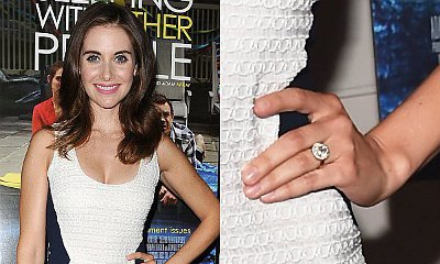 Alison Brie Is Engaged to Dave Franco, Flaunts Diamond Ring