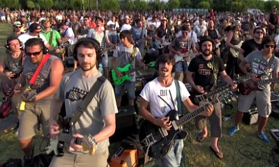 Foo Fighters Promises Cesena Gig After 1,000 People's Cover of 'Learn to Fly' Went Viral