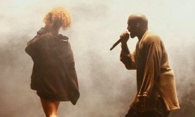 Kanye West Invites Rihanna From Crowd to Join Him on FYF Festival Stage