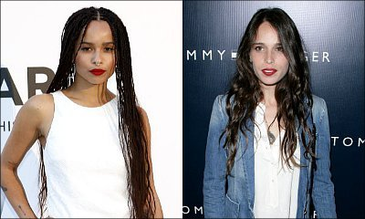 Zoe Kravitz and Chelsea Tyler Think Their Dads Talking About Penis on Twitter Are 'Cool'